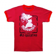 RE-INVENTION TOUR - RED TRUE BLUE RINGER T-SHIRT